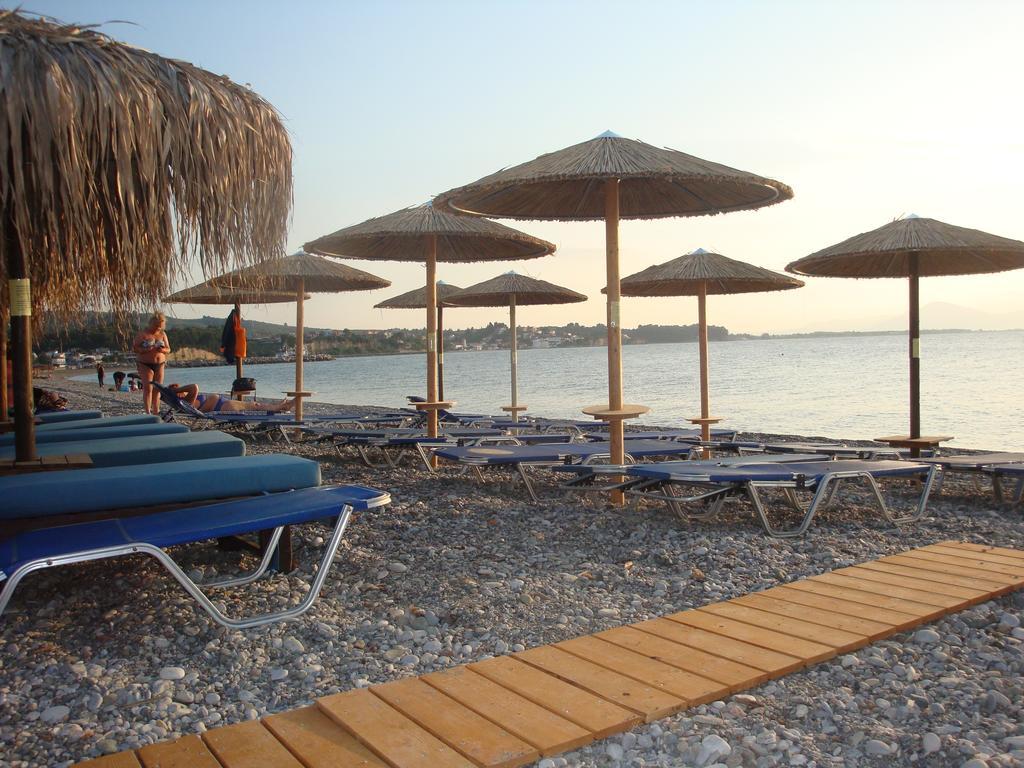 Organized beach